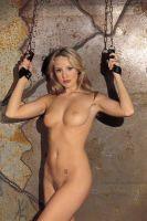 - Arm - ophang boeien, gevoerd met spaltsuede, zonder ketting
