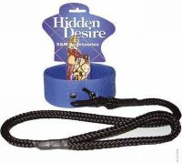 - klittenband collar + leash