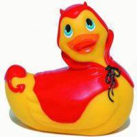 - I Rub my Duckie badeend vibrator - Travelsize Devil Duckie