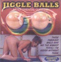 - Latex Jiggle ballen, vleeskleur