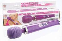 - Magic Massager 2.0(Hitachi style)vibrator oplaadbaar