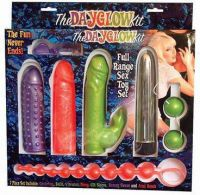 - The Day Glow Kit Vibrator set, 7 delig