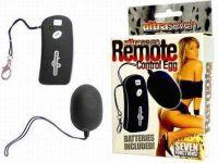 - Ultra Seven Remote Control Vibratie Eitje
