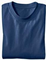 - Ecologisch T - Shirt voor HEM & HAAR, marineblauw