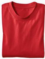 - Ecologisch T - Shirt voor HEM & HAAR, rot