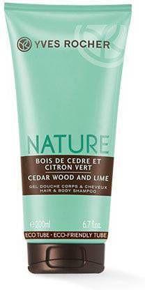 Yves Rocher Bodyshampoo voor lichaam & haar Cèdre &amp, Citron Vert, Nature Homme, Geparfu online kopen